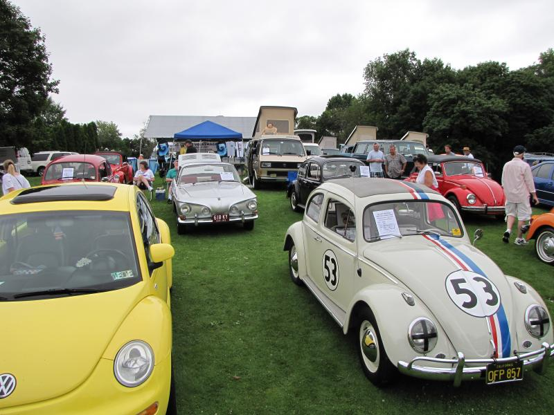 Three Rivers Volkswagen Club Pittsburgh Vintage Grand Prix - Vw car show this weekend